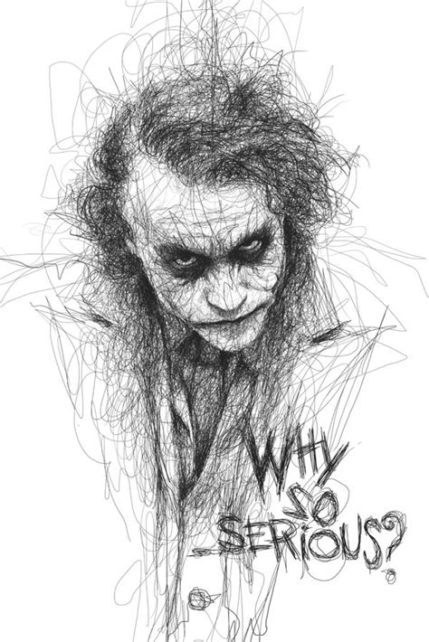lively scribbles produce energetic portraits  famous