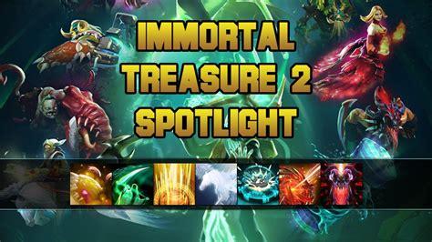 dota  ti immortal treasure  spotlight youtube