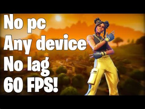 fps  fortnite mobile  device