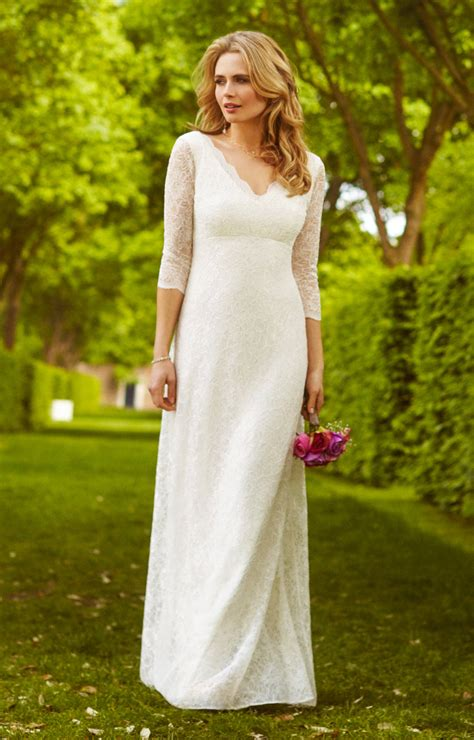 Anya Lace Wedding Gown Ivory Evening Dresses Occasion