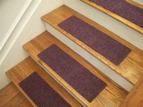 premium carpet stair tread sets berber lavender