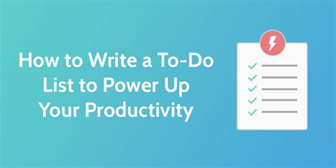 how to make a to do list in word how to make a to do list to power up your productivity