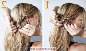 Coiffure Mariage Facile Cheveux Mi Long : coiffures simples cheveux mi longs ~ Nature-et-papiers.com Idées de Décoration