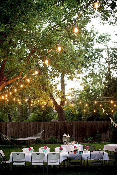 Trendy yet realistic ways to accessorize while traveling. Backyard Lighting Party Ideas - OOSILE
