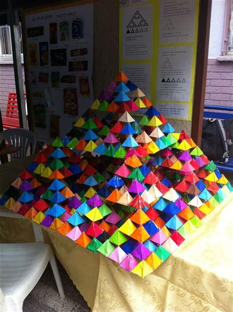 sierpinski pyramid math  kids pinterest