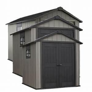 Abri De Jardin Keter : abri de jardin en r sine 8 m brossium 7511 gris keter ~ Dailycaller-alerts.com Idées de Décoration