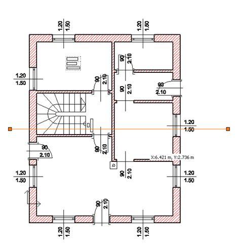 Schnitt Grundriss Zeichnen by Haus Schnitt Zeichnen Home Ideen