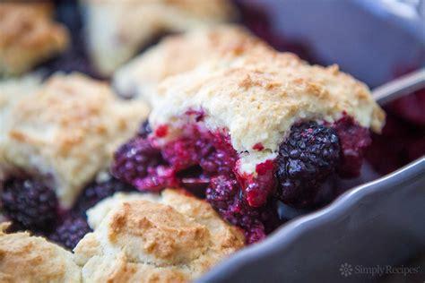 best blackberry recipes best blackberry cobbler