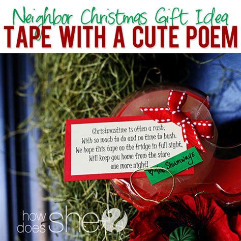 poems for late xmas gifts 39 idea how does she