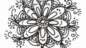 How to Draw Cool Designs - Draw Flower Designs | MAT - YouTube