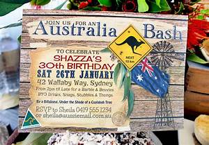 Christmas Invitation Paper Printable Australia Day Party Invitations And Decorations