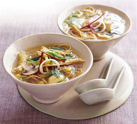 recipe for chicken noodle soup chicken noodle soup recipe bbc good food
