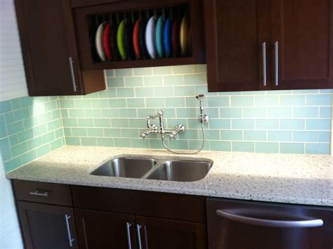 subway kitchen backsplash surf glass subway tile kitchen backsplash decobizz com