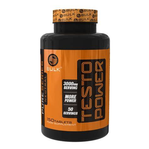 testo power of testo power 150 tabletas de bulk nutrition en complejos