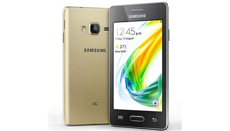 samsung z2 with tizen os and 4 inch screen launched at rs