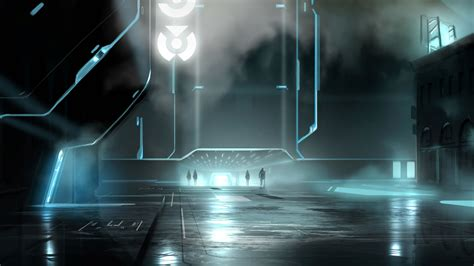 tron legacy original  concept wallpapers