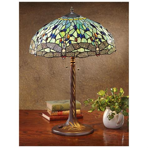 tiffany style dragonfly l dragonfly tiffany style table l 581821 lighting at
