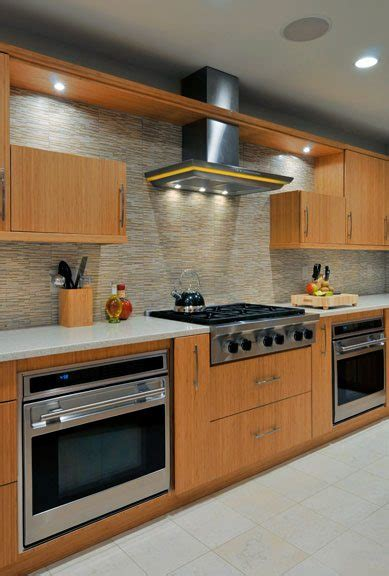 ge gas cooktop green kitchen design eco bamboo kitchens