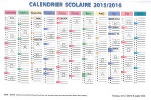 Calendrier 2016 2017 Semaine