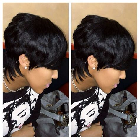 pin short piece quick weave short hairstyle 2013