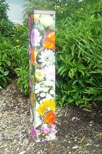 Garden art poles for Garden art pole