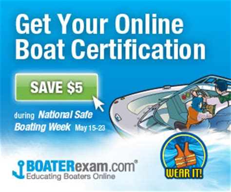 Boat Safety Requirements Georgia by National Safe Boating Week Promotion Aims To Increase