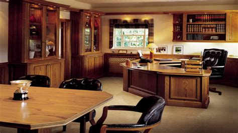 Excellent Executive Home Office Ideas  Home Design #414