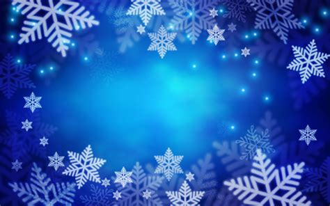 Blue Snowflake Background by Snowflake With Blue Background Vector Free