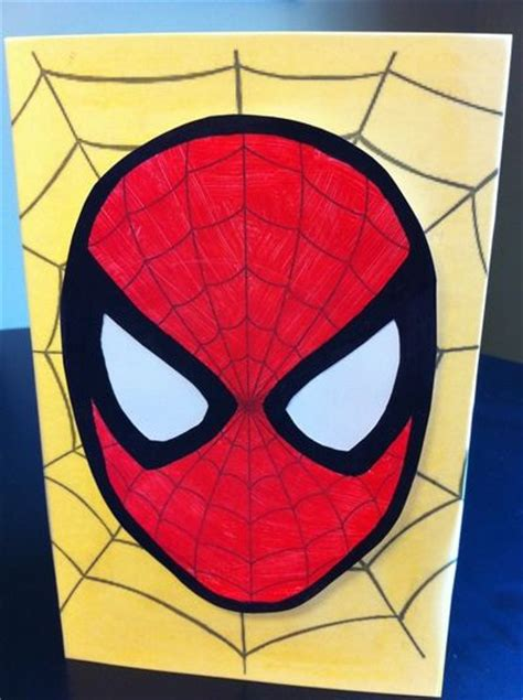25 best images about spider card ideas on 645 | 02bae9907aae55d851ecf935cf87d0b2 spiderman card superhero room