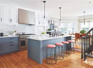 Modern, Kitchen, In, A, Traditional, Home
