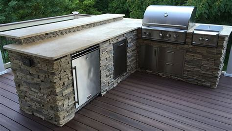 pre built outdoor kitchen islands pre built set in place islands affordable outdoor kitchens 7572