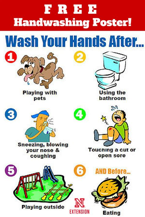 handwashing poster education