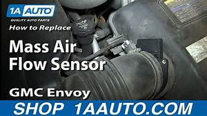 How To Install Repalce Maf Mass Air Flow Sensor V8 5 3l