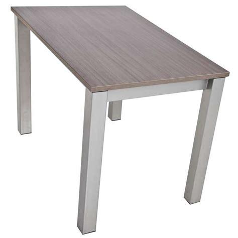 hauteur d une table haute table de cuisine snack rectangulaire extensible en stratifi 233 valencia 4 pieds tables