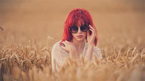 women, Model, Redhead, Long Hair, Women Outdoors, Face ...