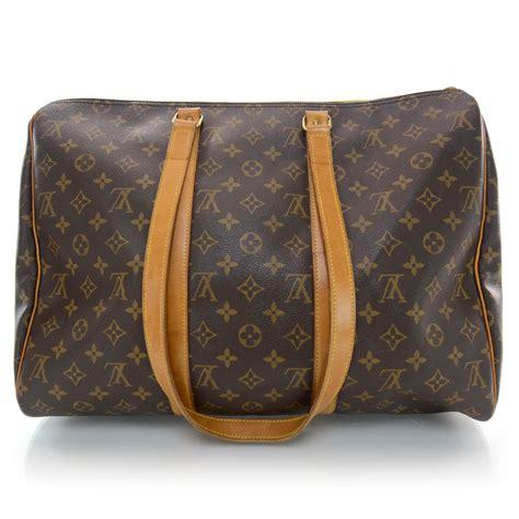 louis vuitton monogram sac flanerie  overnight bag