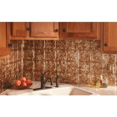 Backsplash Tile Home Depot Canada by Fasade Traditional 1 Bermuda Bronze Backsplash F50 17