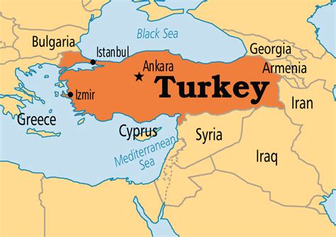country  turkey map  travel information