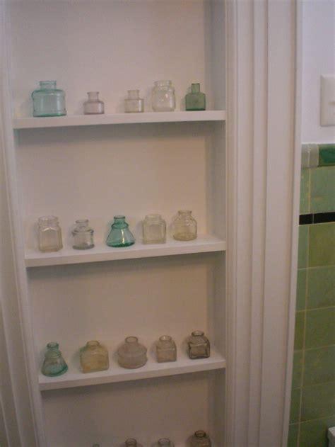 recessed wall cabinet between studs recessed shelves between studs or in an old doorway