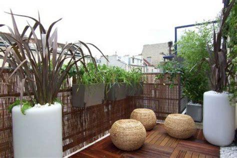 Sichtschutz Garten Originell by Balkon Sichtschutz Aus Bambus Praktische Und Originelle
