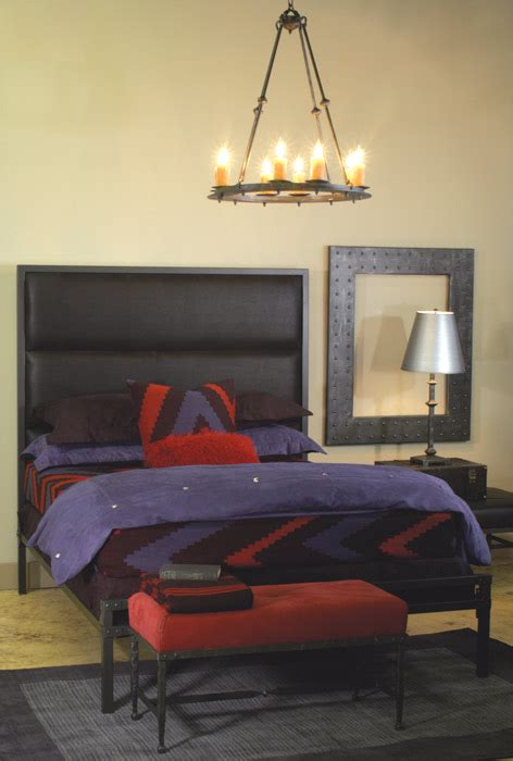 stone county loft wrought iron bed iron accents