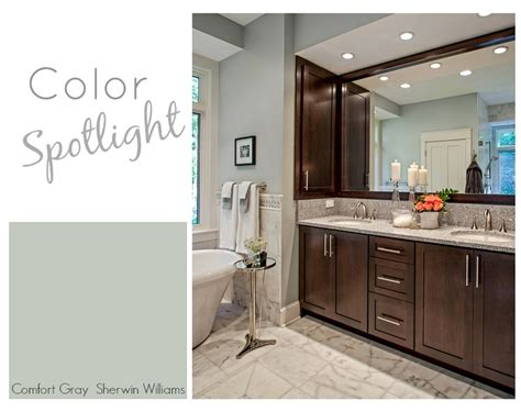 Most Popular Bathroom Colors Sherwin Williams by Color Spotlight Sherwin Williams Comfort Gray