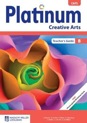 platinum creative arts grade  teachers guide