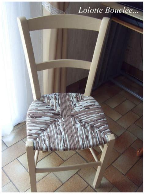 repeindre une chaise comment peindre une chaise en paille