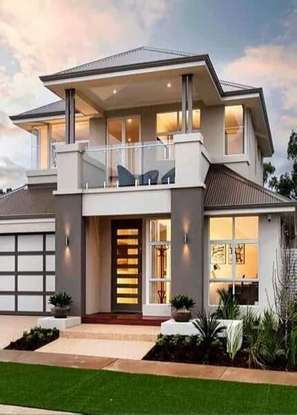 gambar rumah minimalis  lantai modern terindah