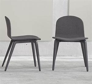 Chaise Tissu Design : nouveau chaise et fauteuil design scandinave en tissu pieds bois bliss blaine r blog de ~ Maxctalentgroup.com Avis de Voitures