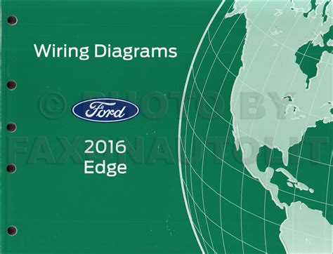 2016 Ford Edge Diagram by 2016 Ford Edge Wiring Diagram Manual Original