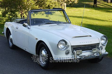 sold datsun  sports roadster auctions lot  shannons