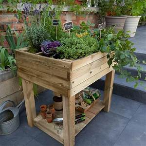 Mini Potager En Bois : carr potager sur pieds marta 60 x 80cm castorama ~ Premium-room.com Idées de Décoration