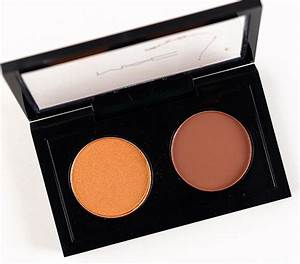 MAC Marche aux Puces Eyeshadow Duo Review & Swatches